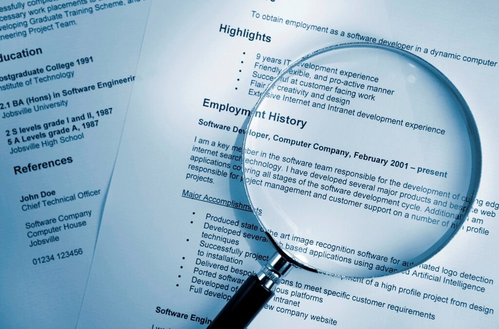How to Spot Lies on a CV